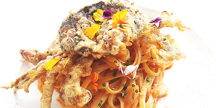 Chilli Crab Pasta from Lawry