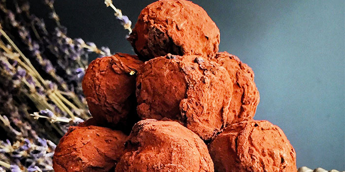 Dark Hazelnut Truffles from Mad About Sucre in Chinatown, Singapore