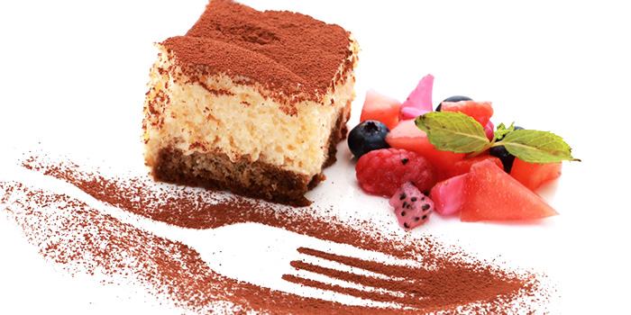 Tiramisu from Osteria Five Nines at Cuppage Plaza in Orchard, Singapore