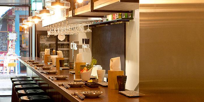 Bar Counter in Panko in Bugis, Singapore