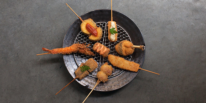 Skewers from Panko in Bugis, Singapore