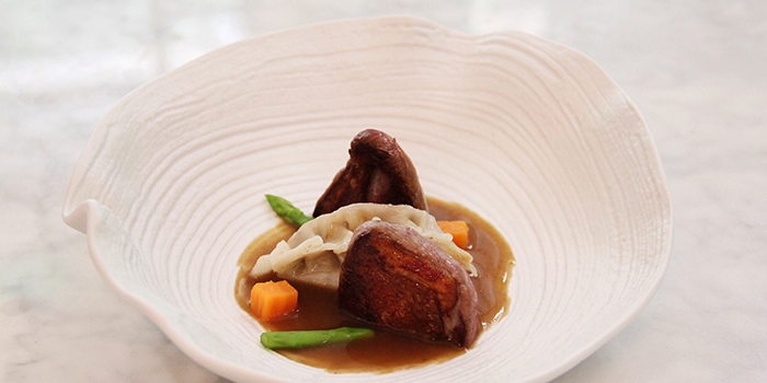 Pigeon in Two Ways from La Ventana in Dempsey, Singapore