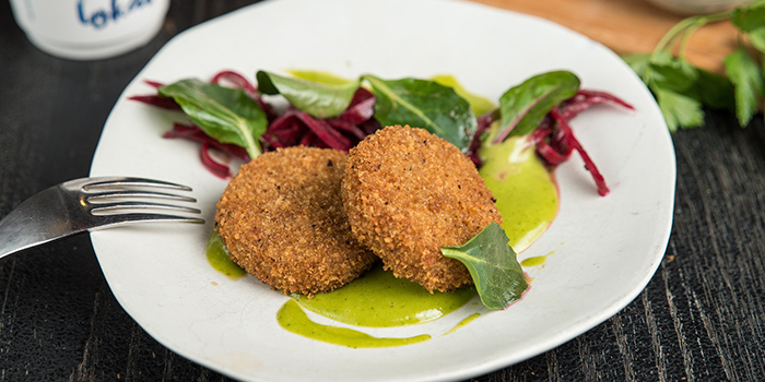 Pork Knuckle Croquette from The Lokal in Chinatown, Singapore