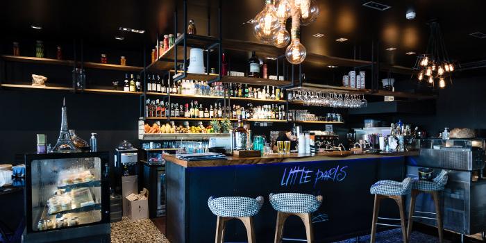 Restaurant Atmosphere of Little Paris Phuket Restaurant in Cherngtalay, Phuket, Thailand.