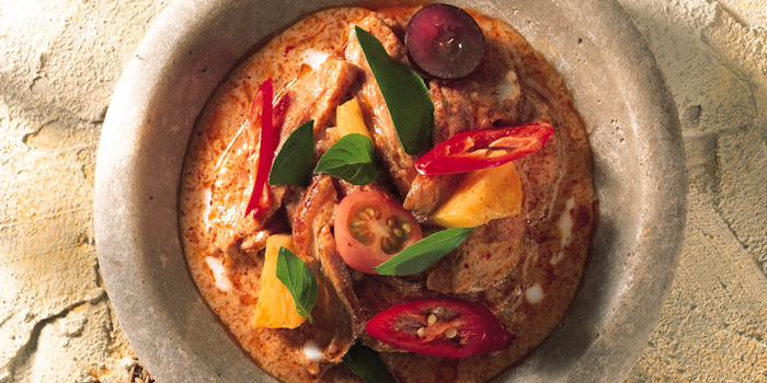Roasted Duck Red Curry from Blue Elephant Restaurant in South Sathorn, Bangkok