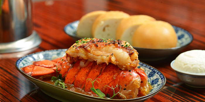 Roasted Lobster Tail, Lee Lo Mei, Central, Hong Kong