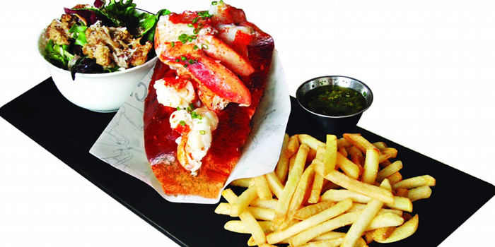 Lobster Role from The Raw Bar in Thonglor, Bangkok