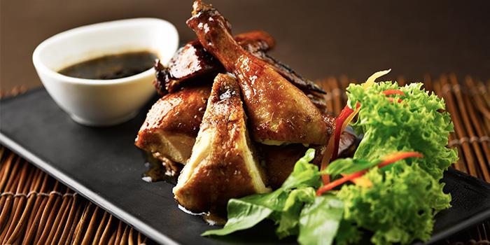 Ayam Panggang Berkakak from Rumah Rasa at The Bay Hotel in Telok Blangah, Singapore