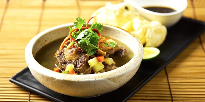 Sup Buntut from Rumah Rasa at The Bay Hotel in Telok Blangah, Singapore