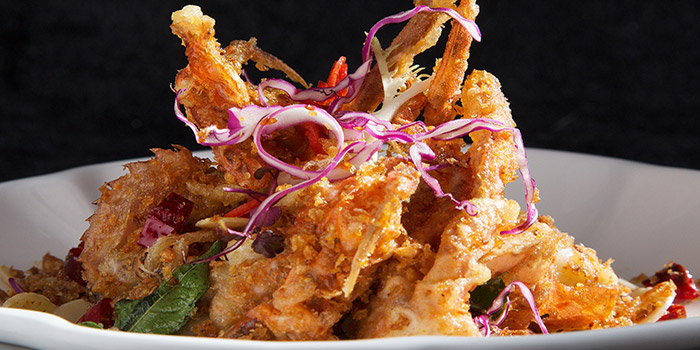 Soft Shell Crab with Curry Leaf, Fang Fang, Central, Hong Kong