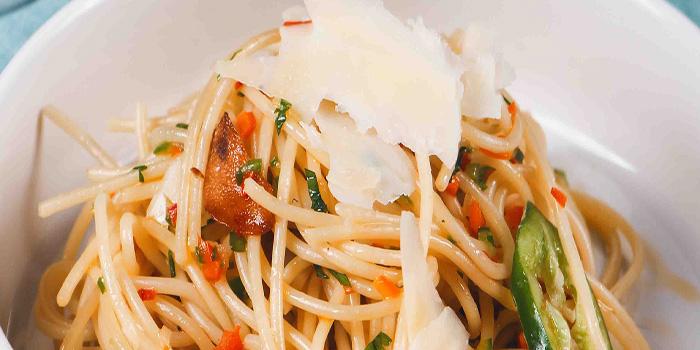 Spaghetti Aglio E Olio, Bungalow, Lan Kwai Fong, Hong Kong