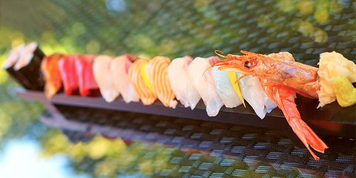 Long Sushi Plate from TEN Sushi & Bar by Marusaya in Robertson Quay, Singapore