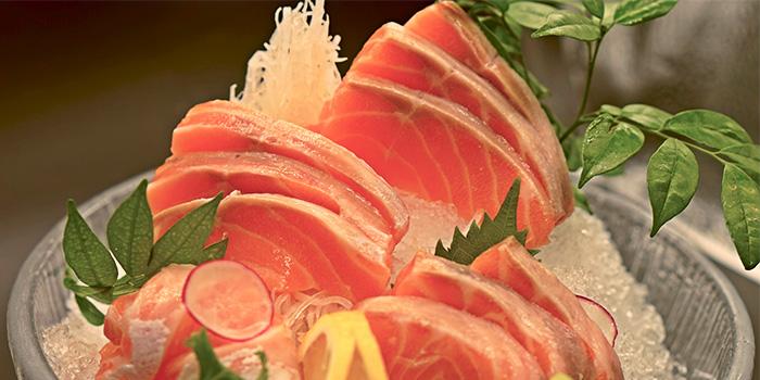 Salmon Sashimi from TEN Sushi & Bar by Marusaya in Robertson Quay, Singapore