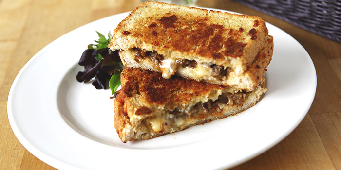 Beef Grilled Cheese from The Fabulous Baker Boy in Clarke Quay, Singapore