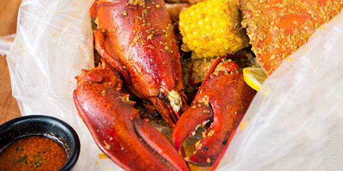 Seafood Boil from The Boiler on Howard Road in Paya Lebar, Singapore