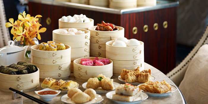 Dim Sum from The Clifford Pier in Fullerton Bay Hotel, Singapore
