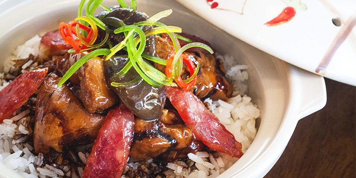 Claypot Rice from The White Olive at Changi Cove in Changi, Singapore
