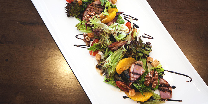 Duck Salad from The White Olive  at Changi Cove in Changi, Singapore