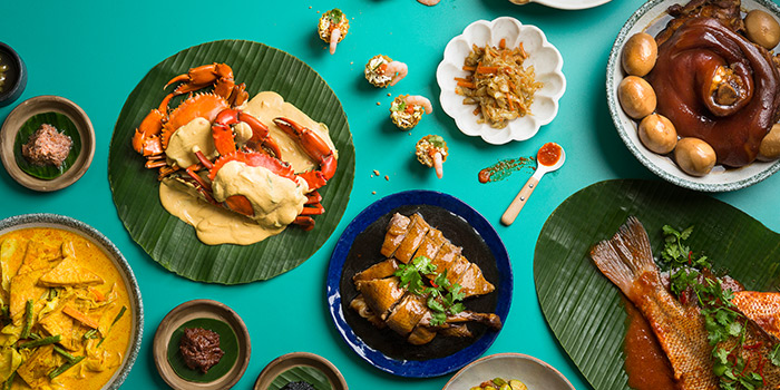 Buffet Spread from Window on the Park in Holiday Inn Singapore Orchard City Centre in Orchard, Singapore