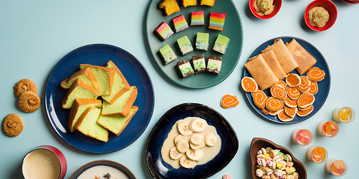 Dessert Spread from Window on the Park in Holiday Inn Singapore Orchard City Centre in Orchard, Singapore