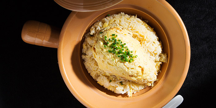 Wok Fried Crab Meat Fried Rice, Fang Fang, Central, Hong Kong