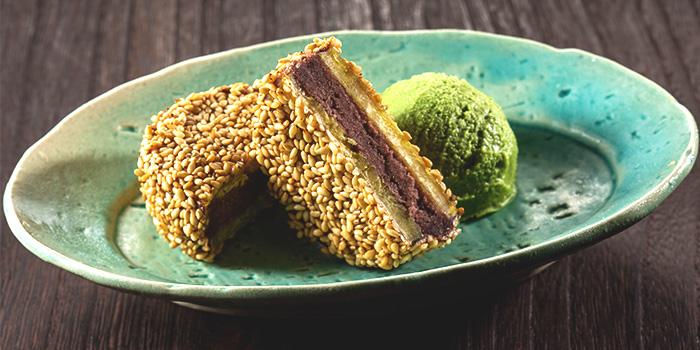 Kintsuba Cake from Sushi Yonpachi in Robertson Quay, Singapore