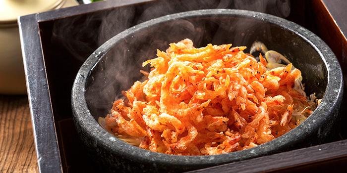 Sakura Shrimp Stone Rice from Yonpachi Gyojo in Robertson Quay, Singapore
