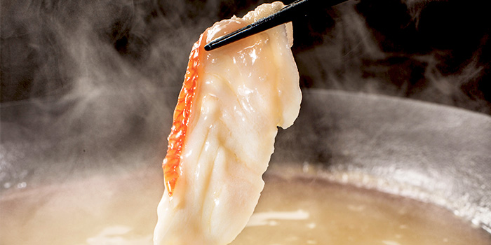 Shabu Shabu from Sushi Yonpachi in Robertson Quay, Singapore