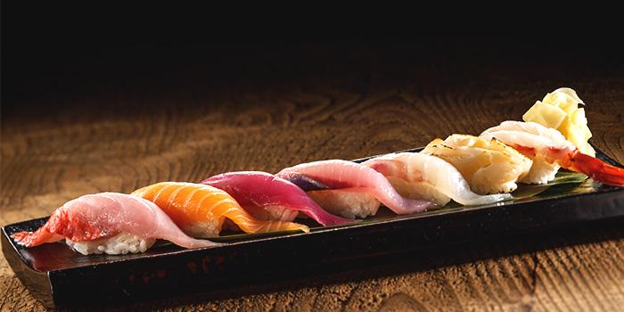 Sushi from Yonpachi Gyojo in Robertson Quay, Singapore