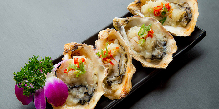 Grilled Oyster, On On BBQ, Mong Kok, Hong Kong