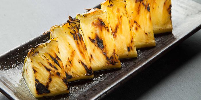 Grilled Pineapple, On On BBQ, Mong Kok, Hong Kong