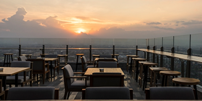 Agra Rooftop Bar & Lounge (Alila Solo)