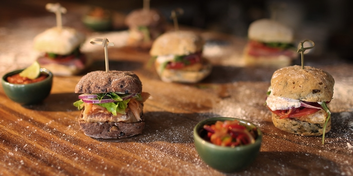 Assorted Sliders at Spice Sanur