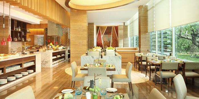 Main Dining Area at Botany, Jakarta