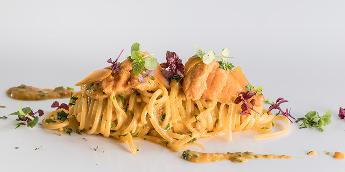 Homemade Spaghetti from il Cielo at Hilton Singapore in Orchard, Singapore