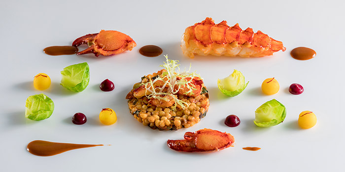 Roasted Maine Lobster from il Cielo at Hilton Singapore in Orchard, Singapore