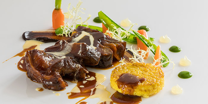 Caramelized Toriyama Wagyu A4 Short Ribs from il Cielo at Hilton Singapore in Orchard, Singapore