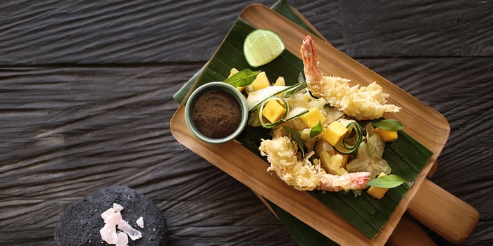 Tempura Prawns at Spice Sanur