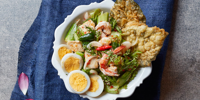Traditional Thai Style Salad from Attarote on Sukhumvit39, Wattana, Bangkok