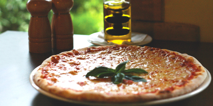 Margherita Pizza from Al Borgo @ Alocassia Apartments in Bukit Timah, Singapore