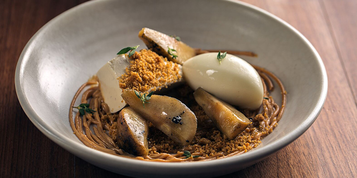 Burnt Pear from Cheek by Jowl on Boon Tat Street in Raffles Place, Singapore