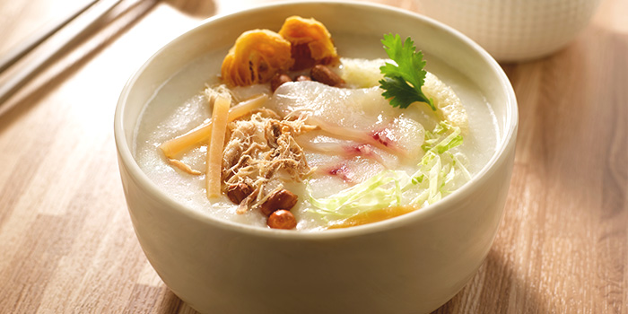 Classic Ting Zai Congee	from Crystal Jade Kitchen (Causeway Point) in Woodlands, Singapore