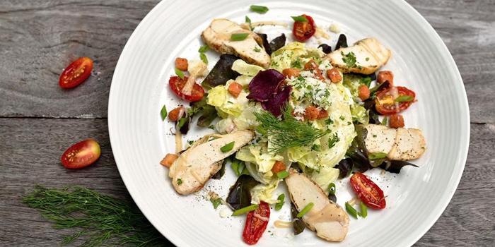 Classic Caesar Salad from La Crêperie on Sukhumvit Soi 39, Bangkok