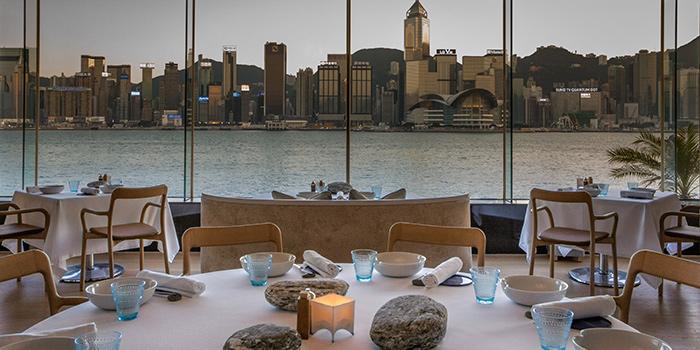 Dining Area, Rech by Alain Ducasse, Tsim Sha Tsui, Hong Kong