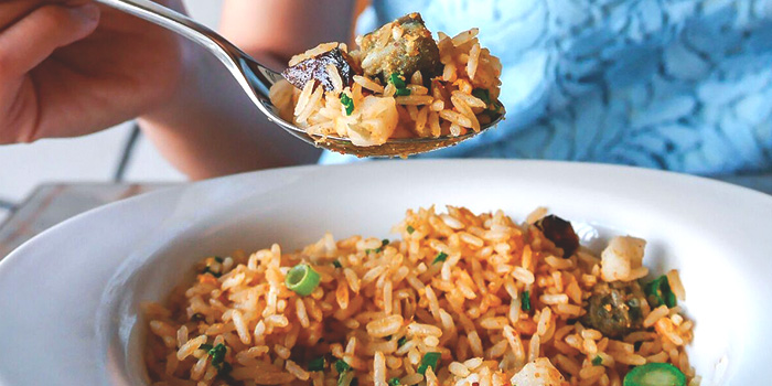 Golden Scallop Fried Rice from Full of Luck Club in Holland Village, Singapore
