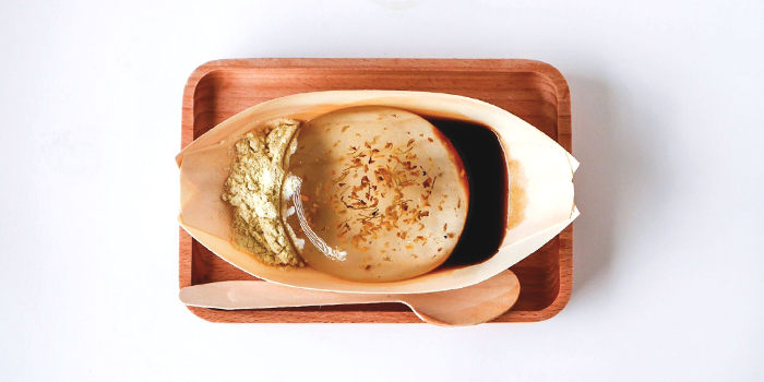 Osmanthus Raindrop Cake from Full of Luck Club in Holland Village, Singapore