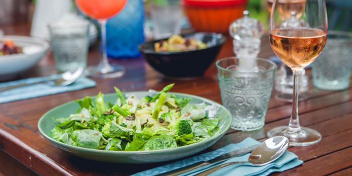 Green Salad  from Blue Parrot on Sathorn Road, Bangkok