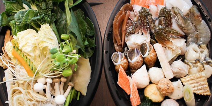 Hotpot Selection from Fu Fu Taiwanese Shabu at G Tower, Bangkok