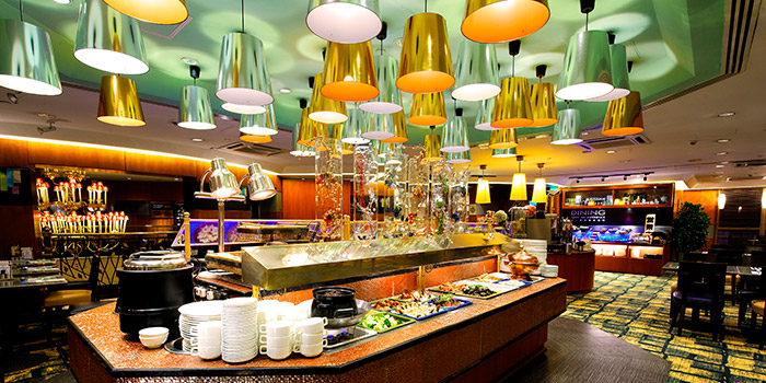 Interior, The Gazebo Restaurant, Wan Chai, Hong Kong