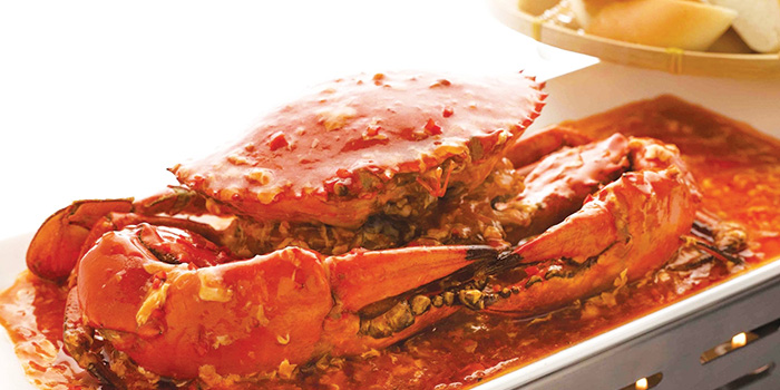 Chilli Crab from JING at One Fullerton, Singapore
